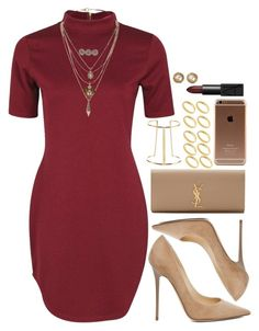 """that dress "" by daisym0nste ❤ liked on Polyvore featuring Victoria's Secret, Gianvito Rossi, Boohoo, Jimmy Choo, Miss Selfridge, ASOS, Yves Saint Laurent, NARS Cosmetics, Chanel and women's clothing"