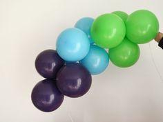 Arche Ballon Arc en Ciel Tuto DIY Blog Sweet Party Day Ballon Diy, Deco Ballon, Sweet Party, Baby Shower, 1 An, Party, Balloon Columns, Babyshower, Baby Showers