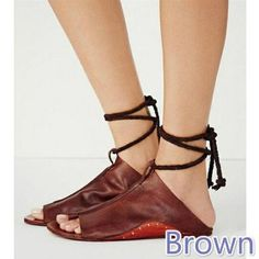 She Era Women Sandals Summer Sandals for Woman Causal Flat Sandals Fashion PU Leahter Ankle Strap Women Shoes size Strap Heels, Ankle Strap Sandals, Women's Shoes Sandals, Women Sandals, Shoes Women, Ladies Shoes, Ankle Straps, Strappy Sandals, Girls Sandals