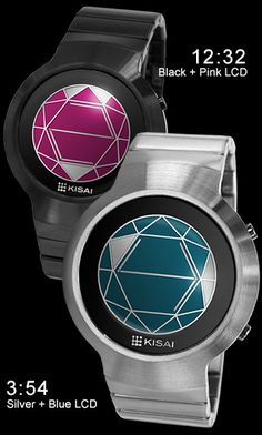 Polygon watch. Wow. If their Tron inspired watch using semi-circles was too easy to use, they have upped the ante by making it virtually impossible to tell time with their newest watch. Who wouldn't buy that?! Oh, yeah...me.