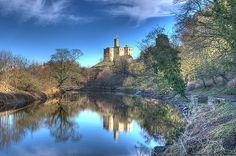 Warkworth Castle, Northumberland, by Dave Wilson via Flickr