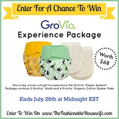 Win a GroVia Experience Package!! This is my all time favorite diapering system!!!