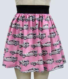 DeLorean (BTTF) Skirt