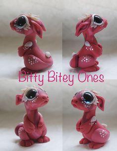 Pink Spotted Bitty Bitey One by BittyBiteyOnes on DeviantArt
