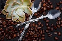 Coffee Spoon - Cheetah Africa Collection - Diana Carmichael design. Shop online now at www.GoodiesHub.com