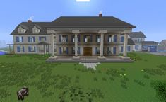 Seven PostWhite Mansion Minecraft Project