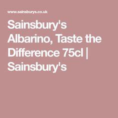 Sainsbury's Albarino, Taste the Difference 75cl | Sainsbury's