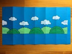 夏祭り&七夕を手作りちょうちんで盛り上げよう!!(新サイズ画用紙ちょうちんの作り方)   粘土工房 KOKKO Garden Flag, Japanese, Logos, Crafts, Manualidades, Japanese Language, A Logo, Science, Handmade Crafts