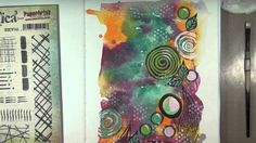 how-to: cheating at doodling with PaperArtsy stamps