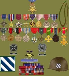 """Murphy, Audie Leon """"most decorated American"""" - Gravestone Us Military Medals, Military Humor, American Soldiers, Hollywood Actor, Us Army, World War Ii, Wwii, Kids Rugs, Hero"""
