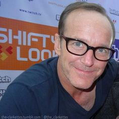 #clarkgregg #comiccon #agentsofshield #sexy #bluetshirt #handsome #philcoulson #style #follow #directorcoulson #fandom #instacool #amazinglycute #instagood #fashion #serious #boss #coulsonlives #marvel #cool #thankgodcoulsonlives #smile #happy #rockstar #smile #happy  #beautifuleyes #cute