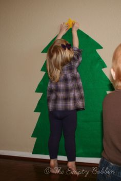The kids can do their very own tree!