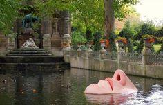 De la Part de Venus, Lotta Hannerz, jardin du luxembourg (fontaine Médicis)