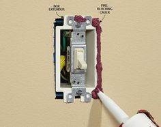 Outlet Insulation Stops Cold Air Coming Through Electrical Outlets – Steve Dennis – Diy