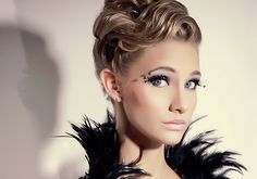 Sleek Wavy Updo - Hi Res here: http://500px.com/photo/6694446