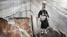 Faces + Masks series by Nikos Vavdinoudis - The ancient pagan ritual of the bell-bearers, Northern Greece.