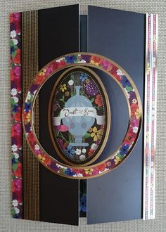 Handmade C5 Gatefold Greeting Card  Just For You by BavsCrafts