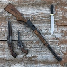 Survival Weapons, Weapons Guns, Guns And Ammo, Bushcraft, Lever Action Rifles, Firearms, Shotguns, Concept Weapons, Custom Guns