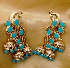 I have this lovely Gold Jewellery Design, Gold Jewelry, Jewelery, Jewelry Accessories, Fashion Accessories, Fashion Jewelry, India Jewelry, Temple Jewellery, Hanging Earrings