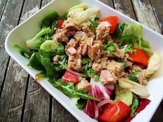Reteta culinara Salata cu ton din categoria Salate. Cum sa faci Salata cu ton Cobb Salad, Ethnic Recipes, Salads