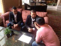 Entrevistas de promoción.