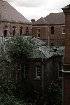 Hellingly Hospital, formerly the East Sussex County Asylum, Hellingly, UK- Partially Demolished