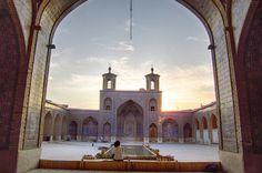 Iran Beautiful Mosque Nasir al Mulk, hermoso lugar!!