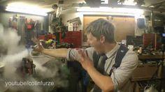 Tecnoneo: ColinFurze se convierte en el Hombre de Hielo de X- men congelando varios objetos con nitrógeno líquido