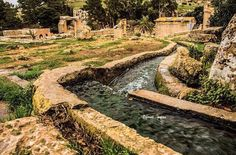 Apollo Springs, Cyrene, northeastern Libya.   THE LIBYAN Esther Kofod www.estherkofod.com