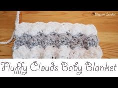 Easiest Crochet Baby Blanket With Marshmallow Stitch + Video Tutorial