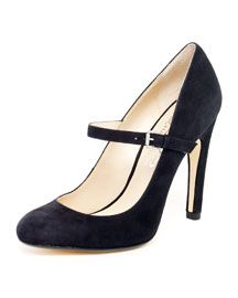 X18FV KORS Michael Kors  Galli Suede Mary Jane Pump  Love this pair of MJs