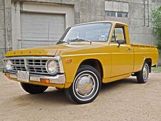 We've made no secret of our fondness for small pickup trucks, a segment that was once hugely popular in the. Mini Trucks, Old Trucks, Pickup Trucks, Small Pickups, Ford Courier, Panel Truck, Jeep 4x4, Electric Car, Vintage Trucks