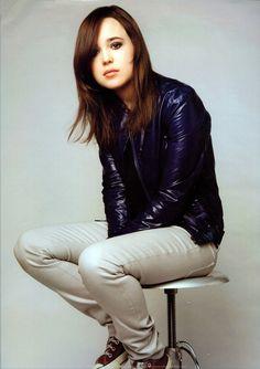 Ellen Page and Converse Photograph