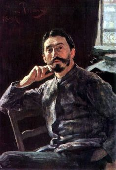 Ilya Repin ~ Self-Portrait, 1894 -  Ilya Yefimovich Repin was a Russian realist painter. He was the most renowned Russian artist of the 19th century, when his position in the world of art was comparable to that of Leo Tolstoy in literature.