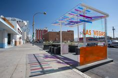 This project is a parklet for downtown Las Vegas. Downtown Las Vegas is undergoing a renaissance. Businesses and people are moving back into downtown. A substantial challenge for downtown is the lack of park space. This parklet, to remain in Street Furniture, Landscape Architecture, Exterior Design, Las Vegas, Connection, World, City, Building, Parking Space