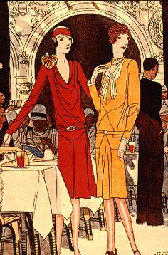 Historic Dress: Early Art Deco (1911-1929)