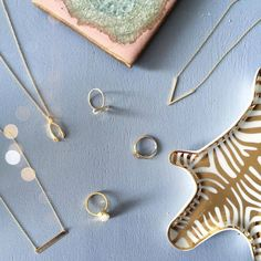 Add some dainty accents to your look with our 14k gold layering necklaces #BlingJewelry