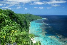 East Rennell, Solomon Islands - Rennell Island is the world's largest raised coral atoll. It is heavily forested and hosts high levels of endemism. The southern portion of the atoll surrounds its former lagoon, Te Nggano, which is now the largest lake in the Pacific Ocean.