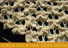 Flores Panal de Crochet Tutorial - Patrones Crochet