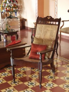 For the longest time ever,I have been dreaming of the Goa style interiors. Does the mention of Goa make you imagine . Colonial Furniture, Traditional Furniture, Home Furniture, Furniture Design, Indian Furniture, Traditional House, Traditional Design, Furniture Ideas, Ethnic Home Decor