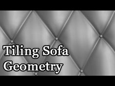 3D Modeling Tutorial #103 - Tiling Sofa Geometry In this video I'll show you how to use 3D Studio Max to model tiling sofa geometry. Please remember to leave...
