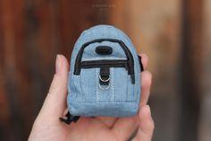 Как сшить рюкзак кукле How to sew a doll backpack 1/6