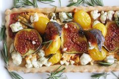 Fig & Goat Cheese Tart – SIMPLY BEAUTIFUL EATING
