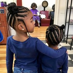 Toddler Braided Hairstyles, Black Kids Hairstyles, Natural Hairstyles For Kids, Baby Girl Hairstyles, Natural Hair Styles, Short Hair Styles, Little Girl Braid Hairstyles, Weave Hairstyles, Funky Hairstyles