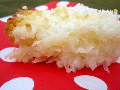 cocadas de lecherita  Sweet Condensed Milk and Coconut Bars