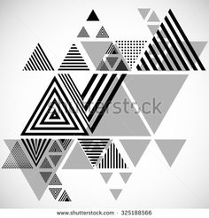 Vector Hipster Triangle Background . Triangle Pattern Background . Abstract Triangle Geometrical Background . Modern Geometrical Triangle Design Template .