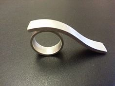 Sculptural ring by MCLARTY,LINNIE-UK