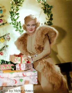 Merry Christmas from Jean Harlow