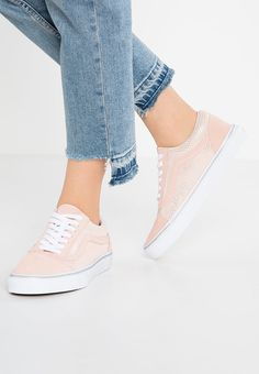 f1b520f546fdf4 Vans Old Skool Men Women Shoes Low Of Metallic Rose Spanish Villa - UK Sale  Promotion Online