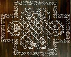 Rangoli Patterns, Rangoli Designs With Dots, Rangoli Designs Images, Rangoli With Dots, Beautiful Rangoli Designs, Simple Rangoli, Dot Rangoli, Geometry Formulas, Pooja Room Design